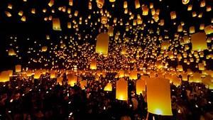 Floating Lantern Festival in Chiang Mai, Thailand Avirat