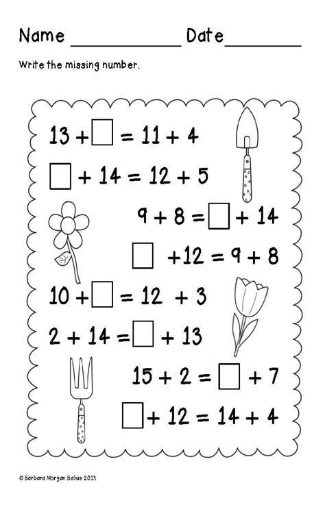 grade math spring balancing equations addition oa