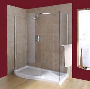 Corner Shower With Curtain by The Benefits Of Walk In Shower Enclosures Bath Decors