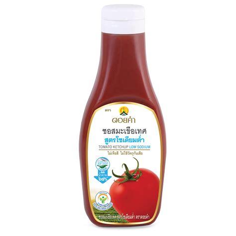 ซอสมะเขือเทศ สูตรโซเดียมต่ำ (Tomato Ketchup Low Sodium ...