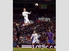 Photoshopped! Cristiano Ronaldo's ridiculous leap during