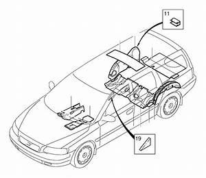 Volvo Xc90 Insulating Mats  Cabin  Insulation  Passenger