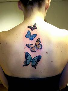 25 Sweet Butterfly Tattoos | CreativeFan