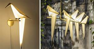Moving Origami Lamps By Umut Yamac