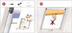 Joint Pour Velux : store occultant enrouleur roto notice de montage pose ~ Premium-room.com Idées de Décoration