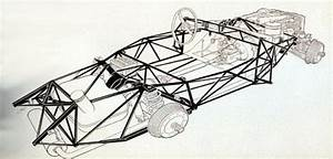 Mercedes Benz 300sl Space Frame Chassis  2