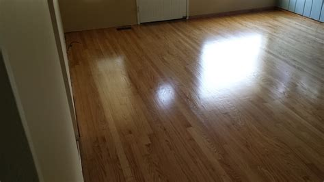 Hardwood Floor Cupping In Summer by Before And After Refinishing Wood Floors Sullivan
