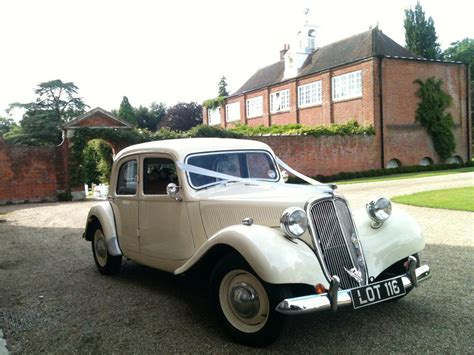 1953 Citroen Wedding Car