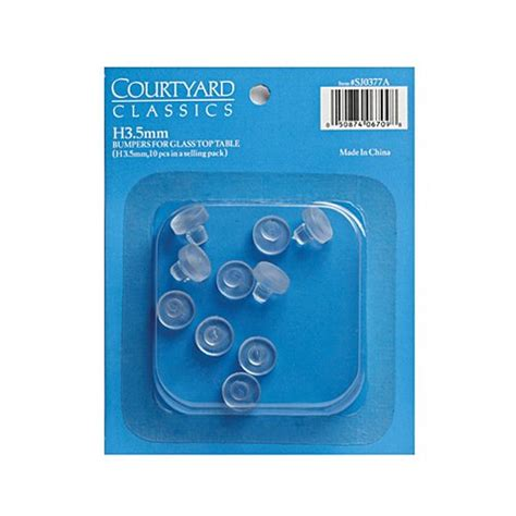 glass table top plastic spacers agio international 001 umbrella ring plug home garden lawn