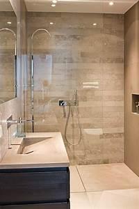 étanchéité Salle De Bain : le carrelage beige pour salle de bain 54 photos de ~ Edinachiropracticcenter.com Idées de Décoration