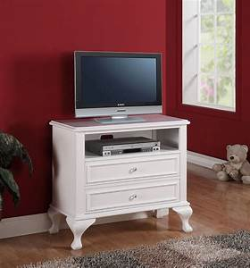 Small White Tv Stand With Drawers For Bedroom Of Stylish