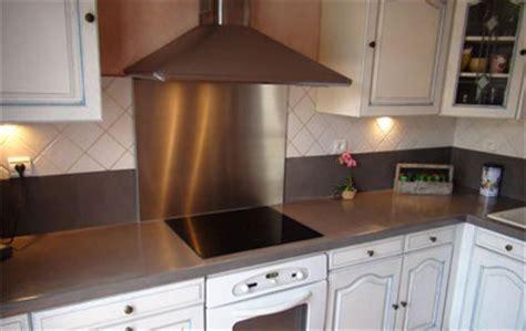fonds de cuisine credence de cuisine autocollante 6 inox r233alisation
