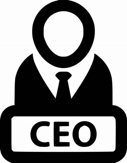 Ceo Executive Icon Chief Clipart Svg Officer