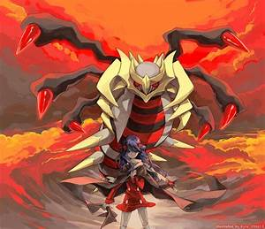 Dawn & Giratina - Pokemon Picture