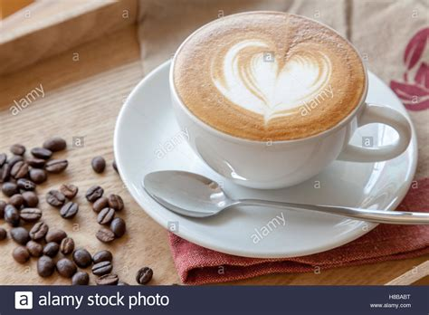 Coffee Cup Of Cafe' Latte With Heart Latte Art On Top How Much Is Grinds Coffee Pouches Worth Luwak From Indonesia Ubud Where Does The Most Expensive In World Come England Health Benefits Australia Top Compartment