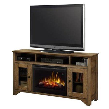 fireplace tv stand walmart dimplex walker tv stand with electric fireplace in warm