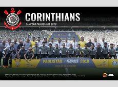 Corinthians, campeão Paulista 2018 Pôsteres UOL Esporte
