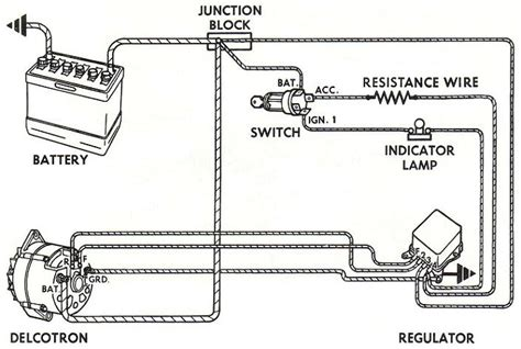 3 Wire Alternator Wiring Diagram 62 Impala by Alternator Conversions For Gm S