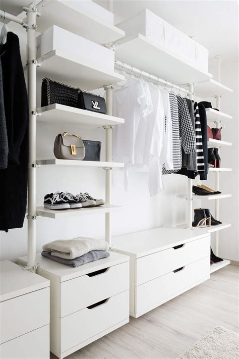 Ikea Regalsystem Ankleidezimmer by Ankleidezimmer Offener Kleiderschrank Ikea Stolmen
