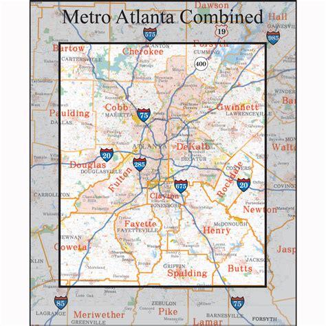 Printable Atlanta Zip Code Map