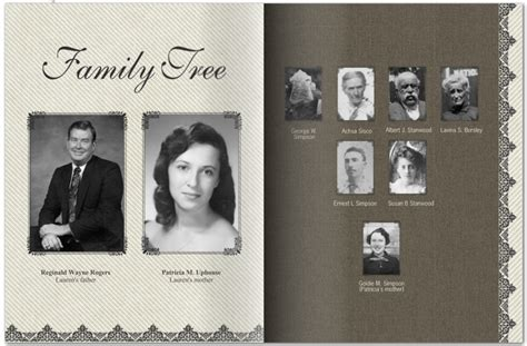 family tree book photo books your family history and still be invited to next year s thanksgiving dinner