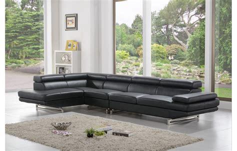 canap駸 cuir design canap cuir noir design stunning le capitonn est un type de canap rput pour