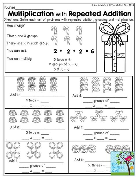 multiplication  repeated addition tons  great