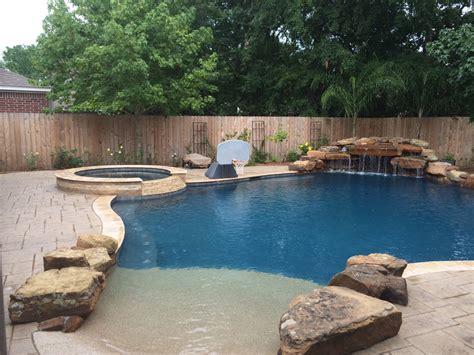 Backyard Amenities by La Porte Backyard Amenities Houston Pool Builder In