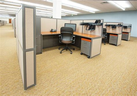 Office Space Knocking Cubicle by Custom Office Cubicles Designed To Fit Your Office Setting
