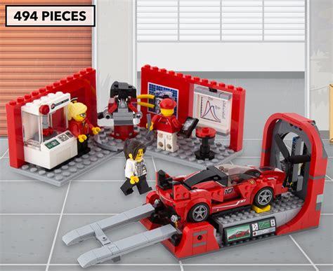 Lego speed champions ferrari fxx k & development 75882. LEGO® Speed Champions Ferrari FXX K & Development Center ...