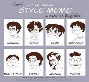 De-Anime'd Style Meme by Loleia on DeviantArt