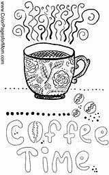 Coloring Coffee Pages Adult Adults Sheets Printable Wine Theme Tea Doodle Books Themed Cup Colouring Cups Colorpagesformom Drinks Colour Discover sketch template