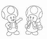 Toad Mario Coloring Coloriage Super Kleurplaat Luigi Face Toadette Printable Dessin Kleurplaten Imprimer Coloringhome Getcolorings sketch template