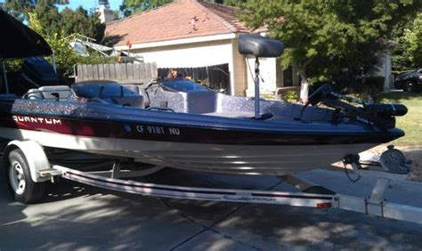 Quantum Bass Boat Seats by Quantum Bass Boat For Sale