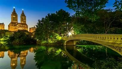Park Central Bridge Bow Backiee Bridges Wallpapers