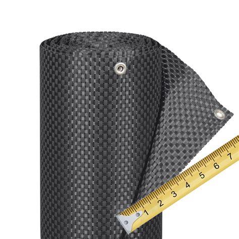 Balkonverkleidung Aus Kunststoff by Balkonverkleidung Kunststoffgeflecht Meterware Titangrau