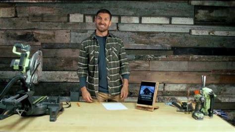 diy barnwood tablet stand video diy
