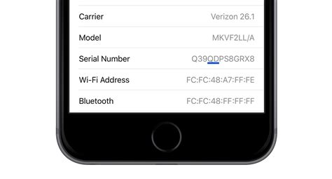iphone 5 serial number check if your iphone 6s is eligible apple s free battery 2016