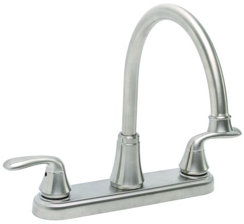 2 handle kitchen faucets with sprayer premier 126966 two handle kitchen faucet without spray in