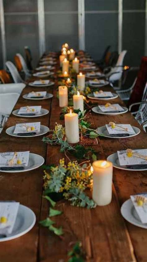 rustic table setting rustic christmas wedding table setting party hosting pinterest wedding flora and rustic