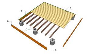 ground level deck plans myoutdoorplans free