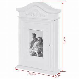 Acheter Cadre Photo : acheter armoire cl s blanche avec cadre photo pas cher ~ Teatrodelosmanantiales.com Idées de Décoration