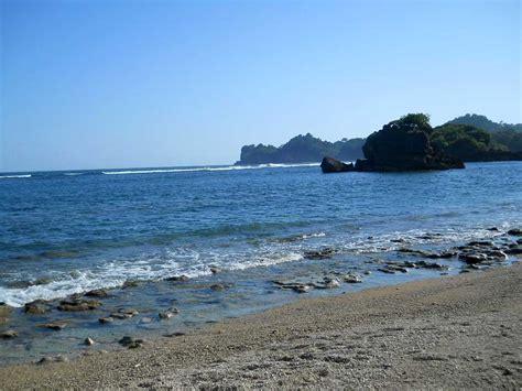 pantai kondang merak malang panorama alam