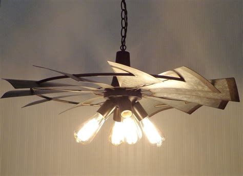 windmill fan with light windmill farmhouse chandelier light the l goods