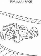Coloring Race Racing Printable sketch template