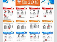 Calendario 2018 Chile Feriados takvim kalender HD