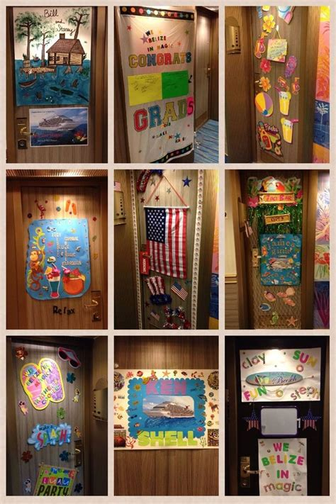 Cruise Door Decoration Ideas by Cruise Door Decorating Quot And Cruise Quot