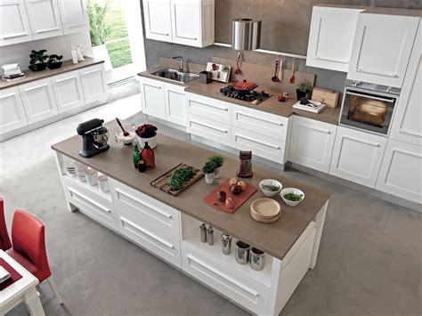 table centrale cuisine gallery cuisine avec îlot by cucine lube