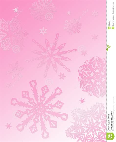 Silver Pink Snowflake Background by Snowflake Background Pink Stock Photography Image 296532