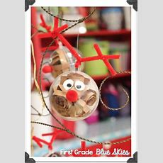 First Grade Blue Skies Christmas Ornaments